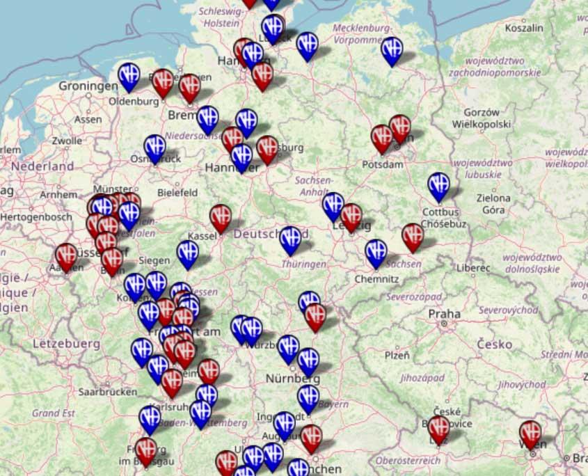 Meetings in Deutschland und Osterreich